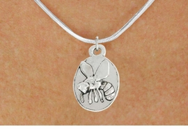 <bR>               EXCLUSIVELY OURS!!<BR>         AN ALLAN ROBIN DESIGN!!<BR>CLICK HERE TO SEE 600+ EXCITING<BR>   CHANGES THAT YOU CAN MAKE!<BR>              LEAD & NICKEL FREE!!<BR>                  W1036SN - BEE<Br>  NECKLACE FROM $4.50 TO $8.35