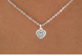 <bR>               EXCLUSIVELY OURS!!<BR>         AN ALLAN ROBIN DESIGN!!<BR>CLICK HERE TO SEE 600+ EXCITING<BR>   CHANGES THAT YOU CAN MAKE!<BR>              LEAD & NICKEL FREE!!<BR> W1039SN - SWIRL DESIGN HEART<Br>& NECKLACE FROM $4.50 TO $8.35