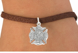 <bR>                      EXCLUSIVELY OURS!!<BR>                AN ALLAN ROBIN DESIGN!!<BR>       CLICK HERE TO SEE 600+ EXCITING<BR>          CHANGES THAT YOU CAN MAKE!<BR>                     LEAD & NICKEL FREE!!<BR>       W1046SB - ST. FLORIAN MALTESE<BR>              CROSS FIREFIGHTER SHIELD<Br>   BRACELET FROM $4.15 TO $8.00 �2011