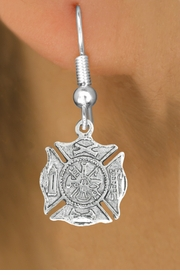 <bR>                      EXCLUSIVELY OURS!!<BR>                AN ALLAN ROBIN DESIGN!!<BR>       CLICK HERE TO SEE 600+ EXCITING<BR>          CHANGES THAT YOU CAN MAKE!<BR>                     LEAD & NICKEL FREE!!<BR>         W1046SE - ST. FLORIAN MALTESE<BR>               CROSS FIREFIGHTER SHIELD<Br>    EARRINGS FROM $4.50 TO $8.35 �2011