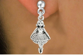 <bR>                    EXCLUSIVELY OURS!!<BR>              AN ALLAN ROBIN DESIGN!!<BR>     CLICK HERE TO SEE 600+ EXCITING<BR>        CHANGES THAT YOU CAN MAKE!<BR>                   LEAD & NICKEL FREE!!<BR>                  W1053SE - BALLERINA<Br>EARRINGS FROM $4.50 TO $8.35 �2011