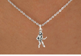 "<bR>                   EXCLUSIVELY OURS!!<BR>             AN ALLAN ROBIN DESIGN!!<BR>    CLICK HERE TO SEE 600+ EXCITING<BR>       CHANGES THAT YOU CAN MAKE!<BR>                  LEAD & NICKEL FREE!!<BR>             W1056SN - ""HOCKEY GIRL""<Br>NECKLACE FROM $4.50 TO $8.35 �2011"