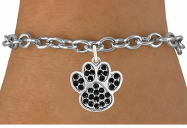 <bR>                                 EXCLUSIVELY OURS!!<BR>                           AN ALLAN ROBIN DESIGN!!<BR>                  CLICK HERE TO SEE 600+ EXCITING<BR>                     CHANGES THAT YOU CAN MAKE!<BR>                                LEAD & NICKEL FREE!!<BR>                     W1057SB BLACK PAW BRACELET<br>                         FROM $5.15 TO $9.00 ©2011