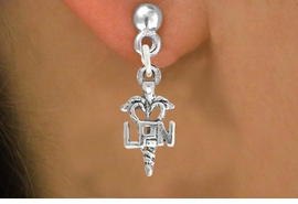 <bR>                      EXCLUSIVELY OURS!!<BR>                AN ALLAN ROBIN DESIGN!!<BR>       CLICK HERE TO SEE 600+ EXCITING<BR>          CHANGES THAT YOU CAN MAKE!<BR>                     LEAD & NICKEL FREE!!<BR>                    W1063SE - LPN NURSE<Br>    EARRINGS FROM $4.50 TO $8.35 �2011
