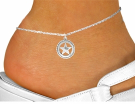 <bR>               EXCLUSIVELY OURS!!<BR>         AN ALLAN ROBIN DESIGN!!<BR>CLICK HERE TO SEE 600+ EXCITING<BR>   CHANGES THAT YOU CAN MAKE!<BR>              LEAD & NICKEL FREE!!<BR>      W1065SAK - WESTERN STAR<Br>ANKLET FROM $3.35 TO $8.00 �2011