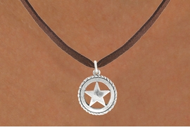 <bR>                  EXCLUSIVELY OURS!!<BR>            AN ALLAN ROBIN DESIGN!!<BR>   CLICK HERE TO SEE 600+ EXCITING<BR>      CHANGES THAT YOU CAN MAKE!<BR>                 LEAD & NICKEL FREE!!<BR>    W1065SN - WESTERN STAR CHARM<Br>& NECKLACE FROM $4.50 TO $8.35 �2011