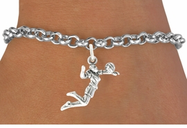 <bR>                                 EXCLUSIVELY OURS!!<BR>                           AN ALLAN ROBIN DESIGN!!<BR>                  CLICK HERE TO SEE 600+ EXCITING<BR>                     CHANGES THAT YOU CAN MAKE!<BR>                                LEAD & NICKEL FREE!!<BR>             W1069SB - GIRL SPIKING VOLLEYBALL<Br>             BRACELET FROM $4.15 TO $8.00 ©2011