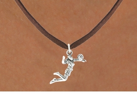 <bR>                            EXCLUSIVELY OURS!!<BR>                      AN ALLAN ROBIN DESIGN!!<BR>             CLICK HERE TO SEE 600+ EXCITING<BR>                CHANGES THAT YOU CAN MAKE!<BR>                           LEAD & NICKEL FREE!!<BR>        W1069SN - GIRL SPIKING VOLLEYBALL<Br>        NECKLACE FROM $4.50 TO $8.35 �2011