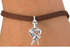 "<bR>                              EXCLUSIVELY OURS!!<BR>                        AN ALLAN ROBIN DESIGN!!<BR>               CLICK HERE TO SEE 600+ EXCITING<BR>                  CHANGES THAT YOU CAN MAKE!<BR>                             LEAD & NICKEL FREE!!<BR>               W1095SB - ""I LOVE CHEER"" CHARM<Br>         & BRACELET FROM $4.15 TO $8.00 ©2011"