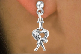 """<bR>                             EXCLUSIVELY OURS!!<BR>                       AN ALLAN ROBIN DESIGN!!<BR>              CLICK HERE TO SEE 600+ EXCITING<BR>                 CHANGES THAT YOU CAN MAKE!<BR>                            LEAD & NICKEL FREE!!<BR>              W1095SE - """"I LOVE CHEER"""" CHARM<Br>          EARRINGS FROM $4.50 TO $8.35 �2012"""