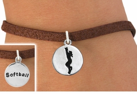 "<bR>                                 EXCLUSIVELY OURS!!<BR>                           AN ALLAN ROBIN DESIGN!!<BR>                  CLICK HERE TO SEE 600+ EXCITING<BR>                     CHANGES THAT YOU CAN MAKE!<BR>                                LEAD & NICKEL FREE!!<BR>W1099SB - 2 SIDED ""GIRL CATCHING BALL / SOFTBALL""<Br>       CHARM & BRACELET FROM $4.15 TO $8.00 ©2011"