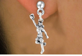 "<bR>                             EXCLUSIVELY OURS!!<BR>                       AN ALLAN ROBIN DESIGN!!<BR>              CLICK HERE TO SEE 600+ EXCITING<BR>                 CHANGES THAT YOU CAN MAKE!<BR>                            LEAD & NICKEL FREE!!<BR>W1100SE - ""GIRL CATCHING SOFTBALL"" CHARM<Br>          EARRINGS FROM $4.50 TO $8.35 �2011"