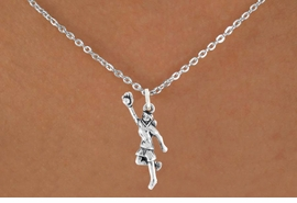 "<bR>                            EXCLUSIVELY OURS!!<BR>                      AN ALLAN ROBIN DESIGN!!<BR>             CLICK HERE TO SEE 600+ EXCITING<BR>                CHANGES THAT YOU CAN MAKE!<BR>                           LEAD & NICKEL FREE!!<BR>W1100SN - ""GIRL CATCHING SOFTBALL"" CHARM<Br>      & NECKLACE FROM $4.50 TO $8.35 �2011"