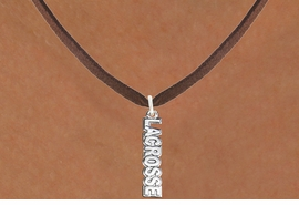 "<bR>                      EXCLUSIVELY OURS!!<BR>                AN ALLAN ROBIN DESIGN!!<BR>       CLICK HERE TO SEE 600+ EXCITING<BR>          CHANGES THAT YOU CAN MAKE!<BR>                     LEAD & NICKEL FREE!!<BR>         W1111SN - ""LACROSSE"" CHARM & <Br>    NECKLACE FROM $4.50 TO $8.35 �2011"