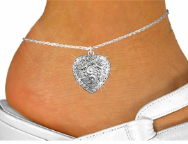 <bR>                 EXCLUSIVELY OURS!!<BR>           AN ALLAN ROBIN DESIGN!!<BR>  CLICK HERE TO SEE 600+ EXCITING<BR>     CHANGES THAT YOU CAN MAKE!<BR>              LEAD & NICKEL FREE!!<BR>W1142SAK - CROSSED PISTOLS HEART CHARM<Br>& ANKLET FROM $4.35 TO $9.00 �2012