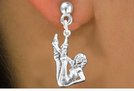 <bR>                           EXCLUSIVELY OURS!!<BR>                     AN ALLAN ROBIN DESIGN!!<BR>            CLICK HERE TO SEE 600+ EXCITING<BR>               CHANGES THAT YOU CAN MAKE!<BR>                          LEAD & NICKEL FREE!!<BR>W1183SE - AEROBIC EXERCISE CHARM <Br>EARRINGS FROM $4.50 TO $8.35 �2012
