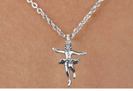 <bR>                  EXCLUSIVELY OURS!!<BR>            AN ALLAN ROBIN DESIGN!!<BR>   CLICK HERE TO SEE 600+ EXCITING<BR>      CHANGES THAT YOU CAN MAKE!<BR>                 LEAD & NICKEL FREE!!<BR>W1184SN - FIGURE ICE SKATER CHARM <Br>& CHILDRENS NECKLACE FROM $4.50 TO $8.35 �2012
