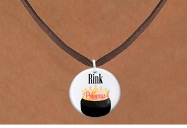 "<bR>                              EXCLUSIVELY OURS!!<BR>                        AN ALLAN ROBIN DESIGN!!<BR>               CLICK HERE TO SEE 600+ EXCITING<BR>                  CHANGES THAT YOU CAN MAKE!<BR>                             LEAD & NICKEL FREE!!<BR>W1192SN - ""RINK PRINCESS"" WOMENS ICE HOCKEY<Br>CHARM & NECKLACE FROM $4.50 TO $8.35 �2012"