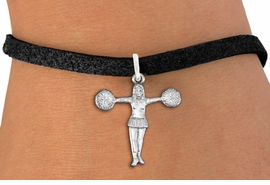 "<bR>               EXCLUSIVELY OURS!!<BR>         AN ALLAN ROBIN DESIGN!!<BR>CLICK HERE TO SEE 600+ EXCITING<BR>   CHANGES THAT YOU CAN MAKE!<BR>             LEAD & NICKEL FREE!! <BR>W1267SB - ""T"" POSE CHEERLEADER <BR>           CHARM  AND BRACELET <BR>     FROM $4.15 TO $8.00 �2012"