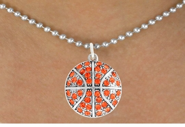 <bR>               EXCLUSIVELY OURS!!<BR>         AN ALLAN ROBIN DESIGN!!<BR>CLICK HERE TO SEE 600+ EXCITING<BR>   CHANGES THAT YOU CAN MAKE!<BR>              LEAD & NICKEL FREE!!<BR>     W906SN - AUSTRIAN CRYSTAL <Br>BASKETBALL CHARM  &  NECKLACE<Br>               FROM $5.40 TO $9.85