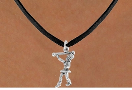 "<bR>               EXCLUSIVELY OURS!!<BR>         AN ALLAN ROBIN DESIGN!!<BR>CLICK HERE TO SEE 600+ EXCITING<BR>   CHANGES THAT YOU CAN MAKE!<BR>              LEAD & NICKEL FREE!!<BR>      W910SN - ""MAJORETTE""<Br>  NECKLACE FROM $4.50 TO $8.35"