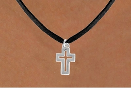 "<bR>               EXCLUSIVELY OURS!!<BR>         AN ALLAN ROBIN DESIGN!!<BR>CLICK HERE TO SEE 600+ EXCITING<BR>   CHANGES THAT YOU CAN MAKE!<BR>              LEAD & NICKEL FREE!!<BR>  W974SN - ""OPEN CROSS"" NECKLACE<Br>               FROM $4.50 TO $8.35<BR>                           �2009"