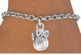 "<bR>               EXCLUSIVELY OURS!!<BR>         AN ALLAN ROBIN DESIGN!!<BR>CLICK HERE TO SEE 600+ EXCITING<BR>   CHANGES THAT YOU CAN MAKE!<BR>              LEAD & NICKEL FREE!!<BR>     W992SB - ""I DIG VOLLEYBALL""<Br>& BRACELET FROM $4.15 TO $8.00"