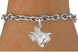 "<bR>               EXCLUSIVELY OURS!!<BR>         AN ALLAN ROBIN DESIGN!!<BR>CLICK HERE TO SEE 600+ EXCITING<BR>   CHANGES THAT YOU CAN MAKE!<BR>              LEAD & NICKEL FREE!!<BR>     W997SB - ""TEXAS LONGHORN""<Br>& BRACELET FROM $4.15 TO $8.00"