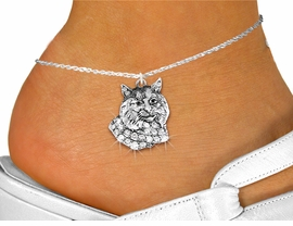 <bR>                    EXCLUSIVELY OURS!!<BR>              AN ALLAN ROBIN DESIGN!! <BR>     LEAD, NICKEL & CADMIUM FREE!!<BR>   W1352SAK - DETAILED BOBCAT WITH <BR> CRYSTALS CHARM AND ANKLET <Br>         FROM $5.40 TO $9.85 �2012