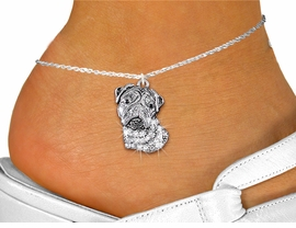<bR>                    EXCLUSIVELY OURS!!<BR>              AN ALLAN ROBIN DESIGN!! <BR>     LEAD, NICKEL & CADMIUM FREE!!<BR>W1356SAK - DETAILED BULLDOG WITH <BR> CLEAR CRYSTALS CHARM AND ANKLET <Br>         FROM $5.40 TO $9.85 �2012