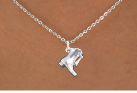 <bR> EXCLUSIVELY OURS!!<BR> AN ALLAN ROBIN DESIGN!!<BR> LEAD & NICKEL FREE!!<BR>W1139SN - DRILL TEAM BOOT <Br>CHARM NECKLACE FROM $4.55
