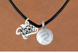 "<BR>   ""EXCLUSIVELY OURS""<bR>AN ALLAN ROBIN DESIGN<Br>   LEAD & NICKEL FREE!!<Br>W13910N - ""CAPTAIN"" &<br> VOLLEYBALL NECKLACE<br>         AS LOW AS $4.50"