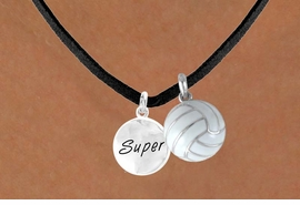 "<BR>      ""EXCLUSIVELY OURS""<bR>  AN ALLAN ROBIN DESIGN<Br>     LEAD & NICKEL FREE!!<Br>W13924N - ""SUPER"" DISC<br>& VOLLEYBALL NECKLACE<br>          AS LOW AS $4.50"