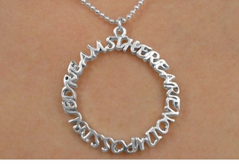 "<Br>          EXCLUSIVELY OURS!!<Br>    AN ALLAN ROBIN DESIGN!!<Br>         LEAD & NICKEL FREE!!<Br>   W14667N - ""THERE ARE NO<BR>IMPOSSIBLE DREAMS"" CIRCLE<bR>   NECKLACE AS LOW AS $3.65"