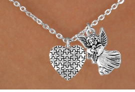 <bR>                EXCLUSIVELY OURS!!<Br>          AN ALLAN ROBIN DESIGN!!<BR>               LEAD & NICKEL FREE!!<BR>       W16011N - GUARDIAN ANGEL<Br>      & AUTISM AWARENESS HEART<Br>            NECKLACE ©2010 FROM<bR>                      $4.85 TO $8.50