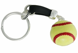 <bR>               EXCLUSIVELY OURS!!<BR>         AN ALLAN ROBIN DESIGN!!<BR>             LEAD & NICKEL FREE!!<BR>       W18517KC - LARGE SOFTBALL<BR>    KEY CHAIN FROM $4.50 TO $10.00