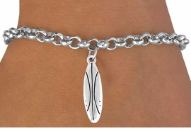 <bR>       EXCLUSIVELY OURS!!<Br>  AN ALLAN ROBIN DESIGN<BR>      LEAD & NICKEL FREE!!<BR>  W357SB - SURFBOARD &<Br>BRACELET AS LOW AS $4.50