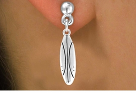 <bR>         EXCLUSIVELY OURS!!<Br>  AN ALLAN ROBIN DESIGN!!<Br>        LEAD & NICKEL FREE!!<BR>     W357SE - SURFBOARD &<Br> EARRINGS FROM $4.50 TO $8.35