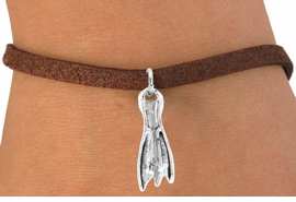 <bR>           EXCLUSIVELY OURS!!<Br>      AN ALLAN ROBIN DESIGN!!<Br>          LEAD & NICKEL FREE!!<BR>    W358SB - SKIN DIVING FIN<Br> & BRACELET AS LOW AS $4.50