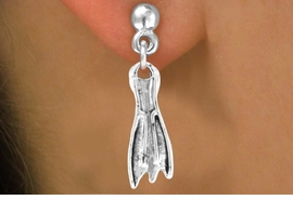 <bR>            EXCLUSIVELY OURS!!<Br>     AN ALLAN ROBIN DESIGN!!<bR>           LEAD & NICKEL FREE!!<BR>    W358SE - SKIN DIVING FIN<Br> & EARRINGS FROM $4.50 TO $8.35