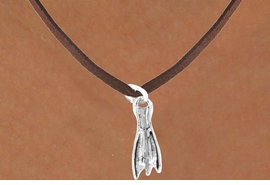 <bR>           EXCLUSIVELY OURS!!<Br>     AN ALLAN ROBIN DESIGN!!<Br>          LEAD & NICKEL FREE!!<BR>    W358SN - SKIN DIVING FIN<Br> & NECKLACE AS LOW AS $4.50