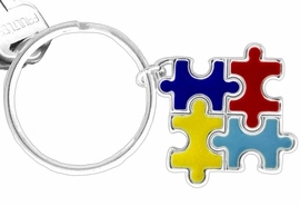 <Br>         AN ALLAN ROBIN DESIGN! <BR>W11544KC - AUTISM AWARENESS<br>      PUZZLE PIECE SQUARE DROP<Br>          KEY CHAIN ©2010 FROM<bR>                     $2.25 TO $5.00