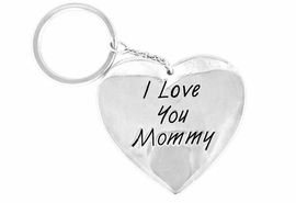 "<Br>                EXCLUSIVELY OURS!!<Br>          AN ALLAN ROBIN DESIGN!!<Br>W14397KC - ""I LOVE YOU MOMMY""<bR>          PUFFED HEART KEY CHAIN<BR>                   AS LOW AS $1.99"