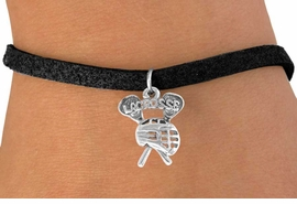 "<bR>                 EXCLUSIVELY OURS!!<BR>   CLICK HERE TO SEE 120+ EXCITING<BR>    CHANGES THAT YOU CAN MAKE!<BR>                LEAD & NICKEL FREE!!<BR>        W225SB - ""LACROSSE, STICKS <br>                WITH GOALIE HELMET"" <Br>CHARM & BRACELET AS LOW AS $4.50"