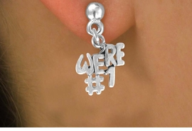 "<bR>              EXCLUSIVELY OURS!!<BR>CLICK HERE TO SEE 120+ EXCITING<BR>   CHANGES THAT YOU CAN MAKE!<BR>              LEAD & NICKEL FREE!!<BR>          W348SE - ""WE'RE #1"" &<Br>       EARRINGS FROM $4.50 TO $8.35"