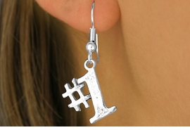 """<bR>               EXCLUSIVELY OURS!!<BR>CLICK HERE TO SEE 120+ EXCITING<BR>   CHANGES THAT YOU CAN MAKE!<BR>              LEAD & NICKEL FREE!!<BR>       W349SE - """"#1"""" & EARRINGS<Br>                    FROM $4.50 TO $8.35"""