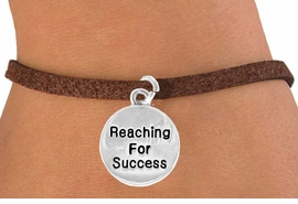 "<bR>                   EXCLUSIVELY OURS!!<BR>    CLICK HERE TO SEE 120+ EXCITING<BR>       CHANGES THAT YOU CAN MAKE!<BR>                  LEAD & NICKEL FREE!!<BR>W439SB - ""REACHING FOR SUCCESS""<br>CIRCLE & BRACELET AS LOW AS $4.50"