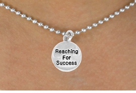 "<bR>                 EXCLUSIVELY OURS!!<BR>    CLICK HERE TO SEE 120+ EXCITING<BR>      CHANGES THAT YOU CAN MAKE!<BR>                 LEAD & NICKEL FREE!!<BR>W439SN - ""REACHING FOR SUCCESS""<br>CIRCLE & NECKLACE AS LOW AS $4.50"