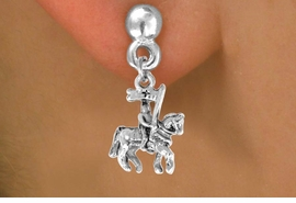 <bR>               EXCLUSIVELY OURS!!<BR>CLICK HERE TO SEE 120+ EXCITING<BR>   CHANGES THAT YOU CAN MAKE!<BR>               LEAD & NICKEL FREE!!<BR>    W446SE - KNIGHT ON HORSE &<Br>    EARRING FROM $4.50 TO $8.35