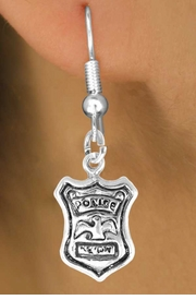 <bR>               EXCLUSIVELY OURS!!<BR>CLICK HERE TO SEE 120+ EXCITING<BR>   CHANGES THAT YOU CAN MAKE!<BR>              LEAD & NICKEL FREE!!<BR>        W447SE - POLICE SHIELD &<Br>         EARRING FROM $4.50 TO $8.35